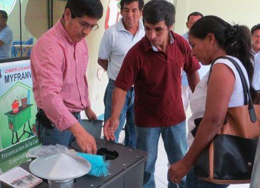 Se presentó FIDECOP y modelos de cocinas certificados a cooperativa ACPC Pichanaki