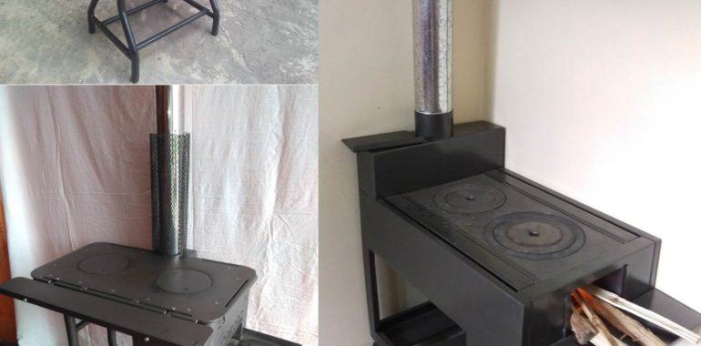 Nuevos modelos de cocinas mejoradas portátiles cuentan con certificación de SENCICO