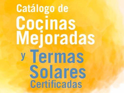 catálogo de cocinas mejoradas y termas solares