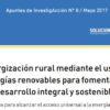 Energización rural mediante el uso de energías renovables para fomentar un desarrollo integral y sostenible